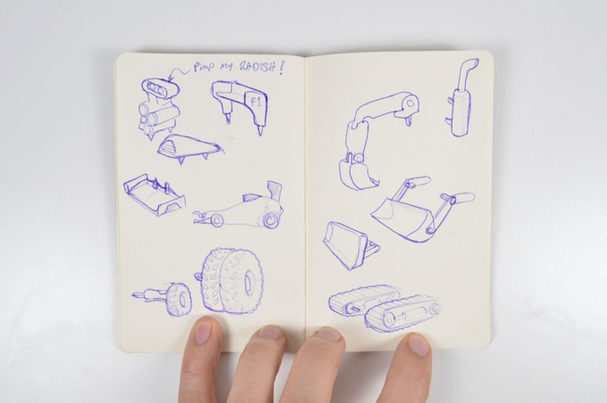O_T Extended edition sketchbook
