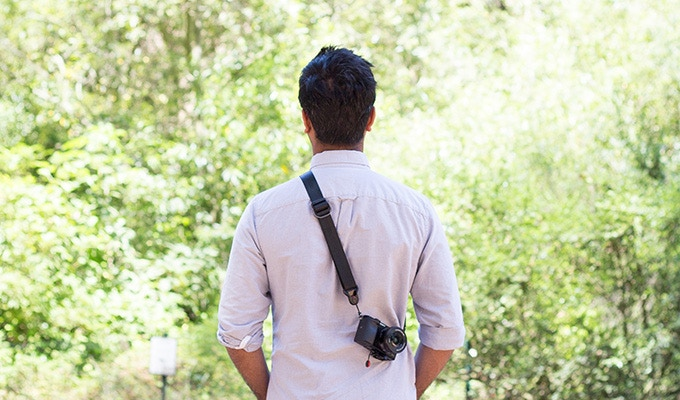 Wear SlideLITE as a sling, neck strap or shoulder strap. It connects to your camera with our patent-pending Anchor link quick-connect system. And, it looks damn good.