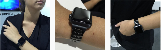 38mm Space Black on Apple Watch Sport. See more images on Instagram.