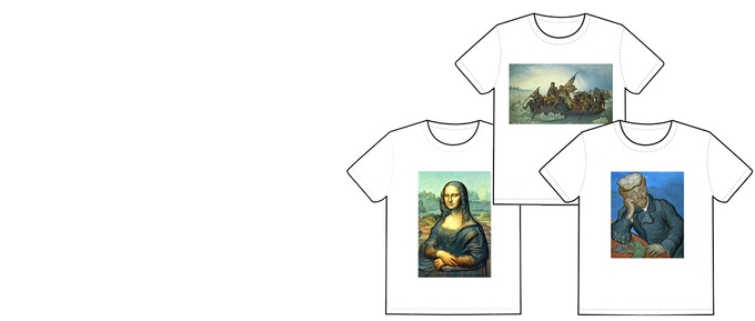 Pledge $50 and receive a T shirt made from an original 3D Rendering.