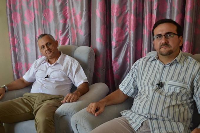 Roberto Veiga and Lenier González, coordinator and vice-cordinator at independent journal Cuba Posible