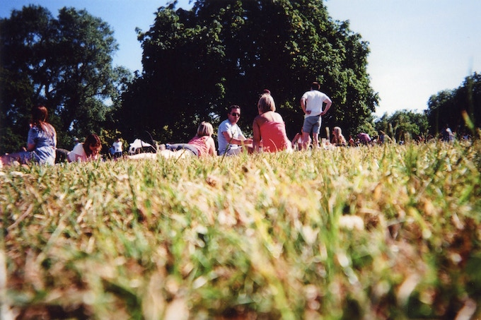 Hyde Park Picnic, London, by Goska Calik. My London Exhibition finalist.