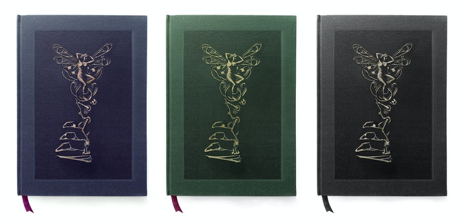 The Wonderland book will be available in 3 different editions (design mock-ups)