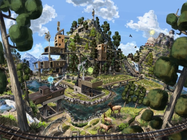 Eco how buildings and crafting works strange loop games for Crafting and building 2