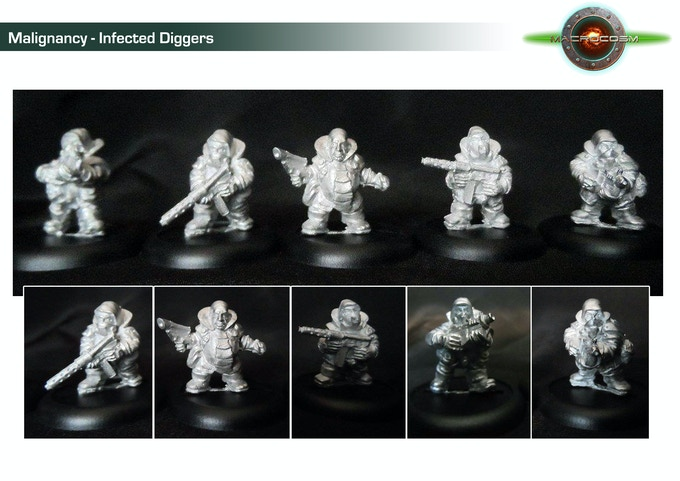 Metal Masters Infected Diggers