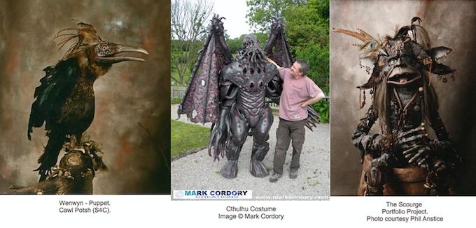 Mark Cordory: Monster maker