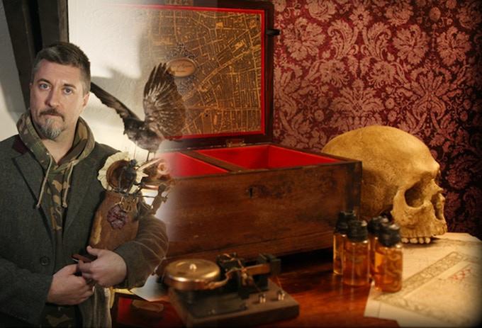 Dan Baines: Illusion & prop maker