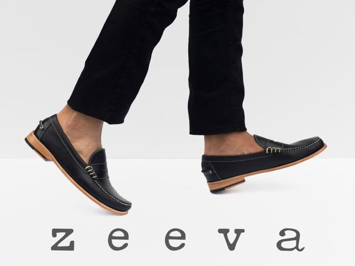 Zeevas Are Custom Handcrafted Shoes With 3 Layers of Thick, Soft, Natural Leather Under Your Feet.
