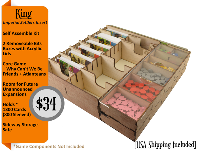 Ttm board game inserts and storage solutions backerkit for Board game storage solutions