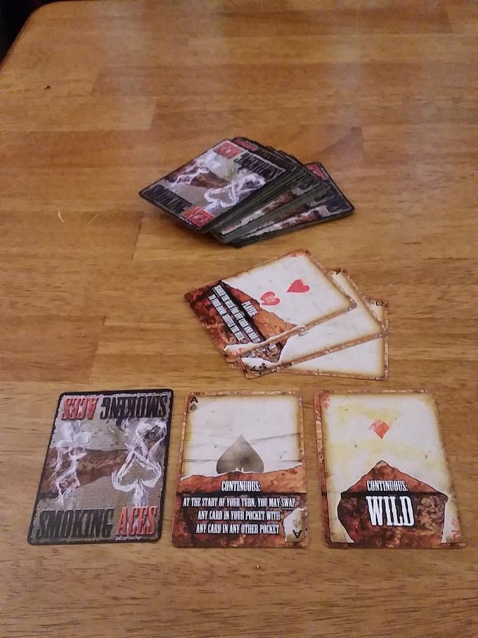 Smoking Aces Finished Protoype Cards