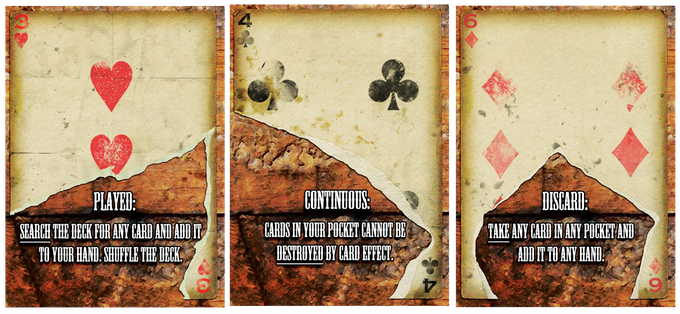 Smoking Aces Card and Effect Examples