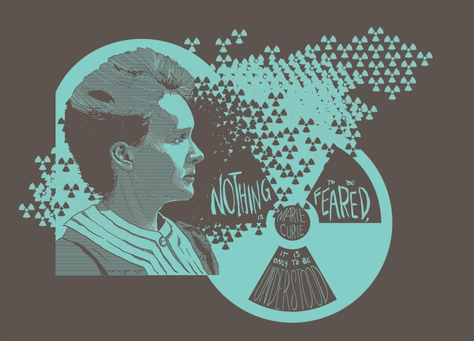 """Noting is to be feared, it is only to be understood"" - Marie Curie"