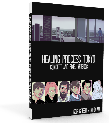 The Art of Healing Process: Tokyo Book (Black Edition)