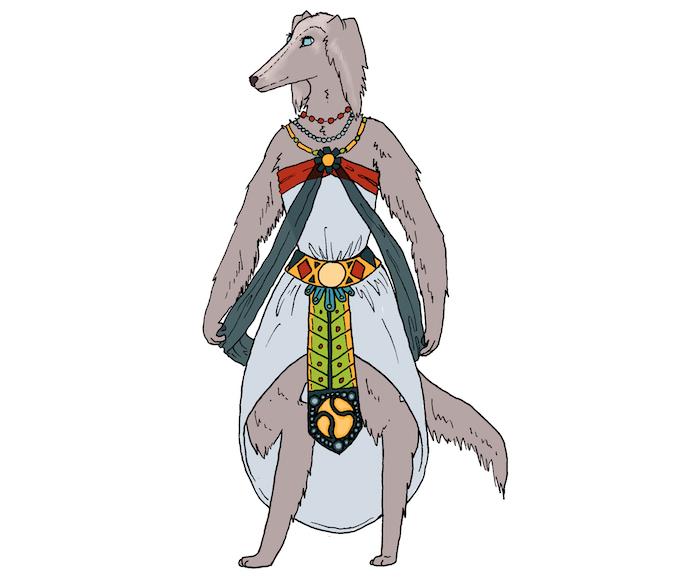 Concept Art for Queen Luzia