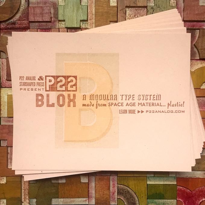 P22 Blox - Modular Letterpress Blocks by Richard Kegler