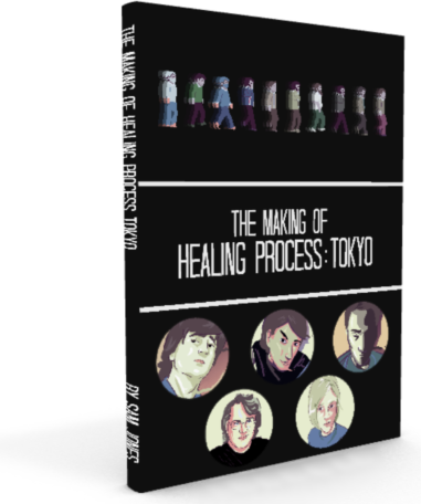 The Making of Healing Process: Tokyo Book (Black Edition)