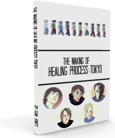 The Making of Healing Process: Tokyo Book (White Edition)