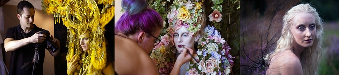 Richard Wakefield (Photography and Film)        Elbie Van Eden (Hair and Make up)       Katie Hardwick (Model)