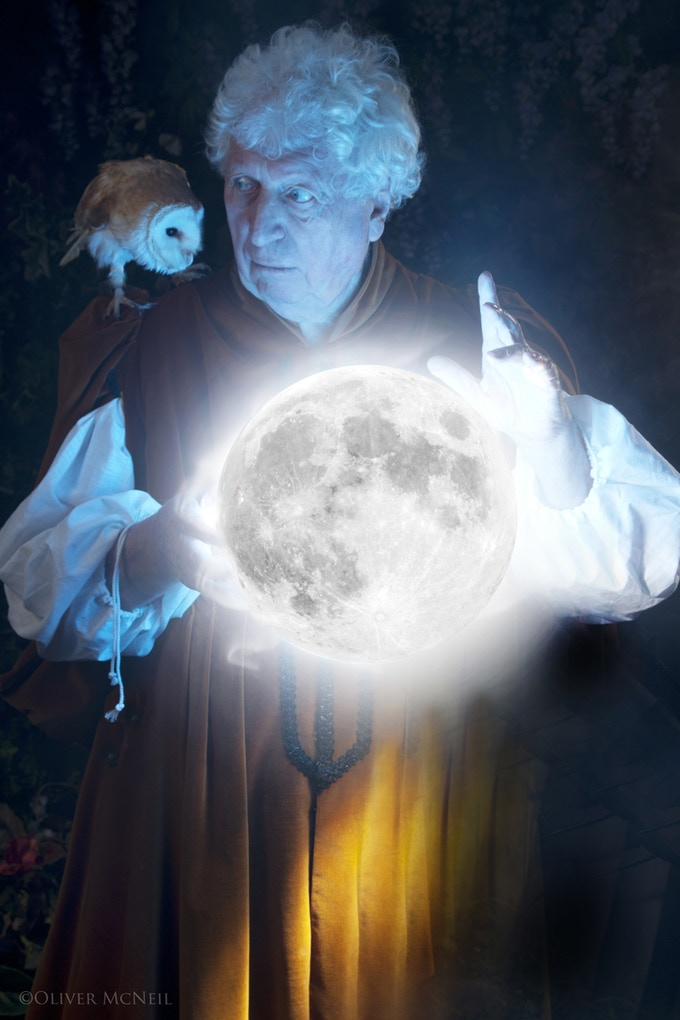 Tom Baker: The voice of the Dungeon