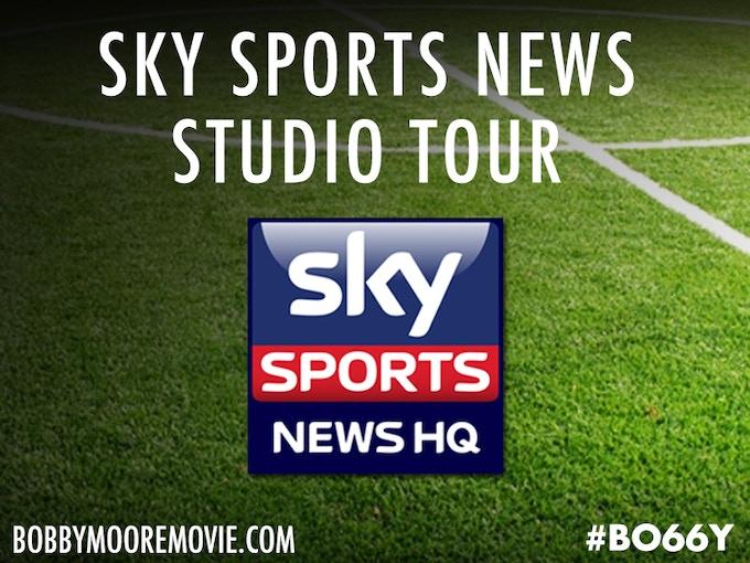 Tour the Sky Sports News studios in London, meet star presenters and BO66Y producer Matt Lorenzo