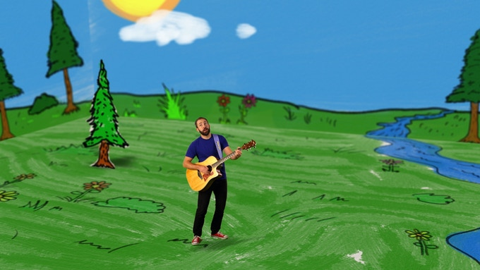 "Watch ""Colour It,""  a ""Will's Jams video on Kids' CBC"