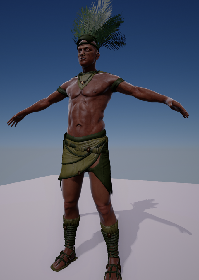 Our first indigenous tribesman!