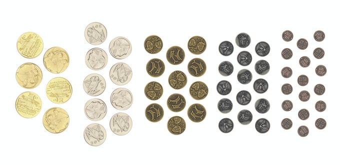 PiecePacks are our smallest unit and provide maximum possible customization. Each one includes either: 18 tiny coins, or 15 small coins, or 12 medium coins, or 9 large coins, or 6 jumbo coins.