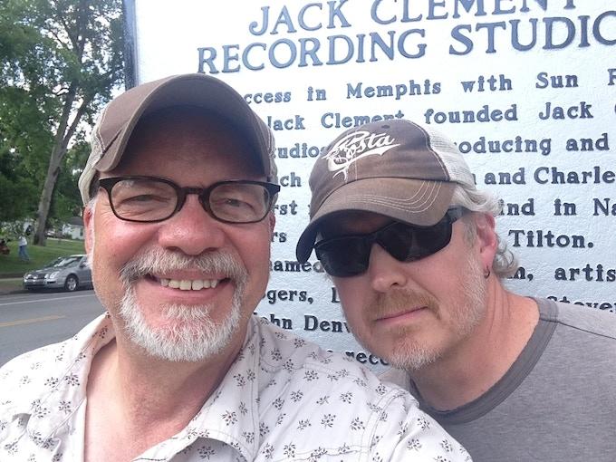 PM and Engineer wiz Todd Robbins at Sound Emporium, Nashville