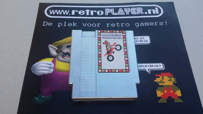 The ultimate silver collectors edition version of the retroplayer.nl championship 2015