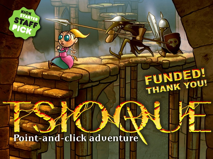 A dark but playful point and click adventure, hand-animated in glorious frame-by-frame 2D. Free DEMO.