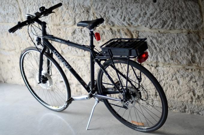 The LEED 500 Series High Power Electric Bike Conversion Kit