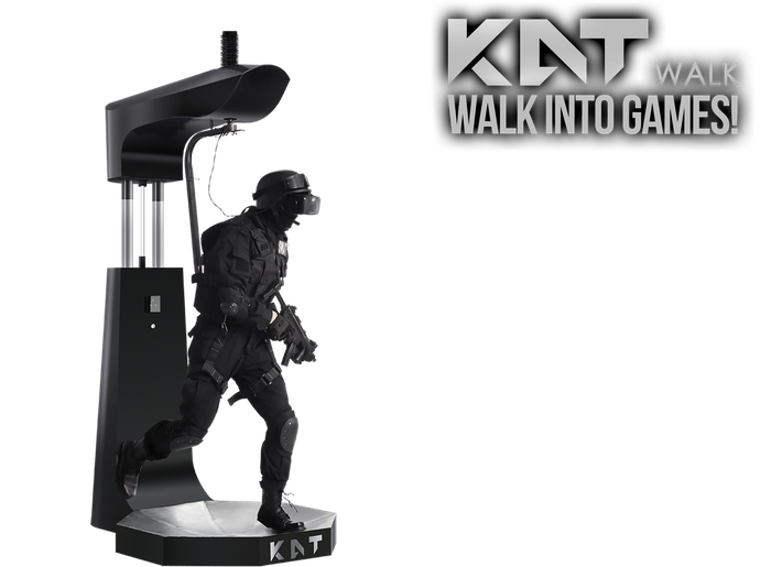 Walk into the virtual worlds! No more constraints for your VR experience! Note: The Kickstarter version of the KAT WALK is no longer available, pricing and design of the commercial version are different than this page.