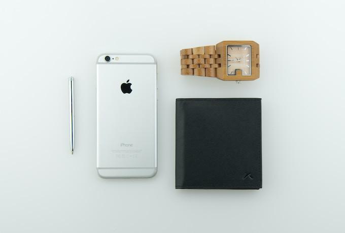 Aki - The Best Minimalist Bi-fold Wallet.