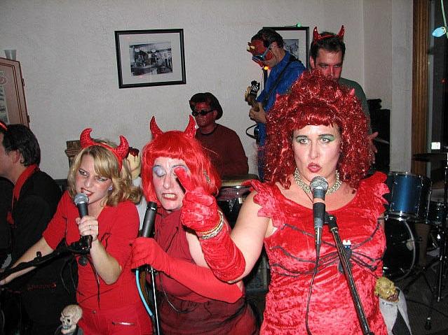 Halloween party, circa 2006