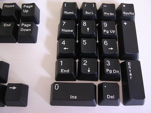 The Numeric Pad