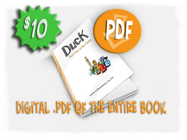 """Digital download (PDF) of """"Duck! Third Time is the Charm"""""""