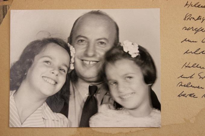 Helen, William and Eva Hesse circa 1942