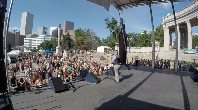 Main Stage Performance at Denver PrideFest 2015