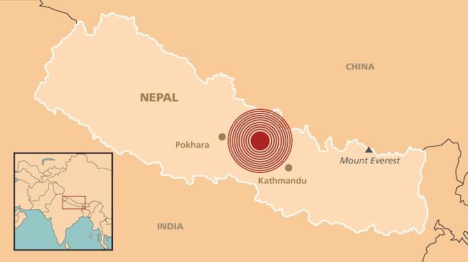 7.8 magnitude earthquake