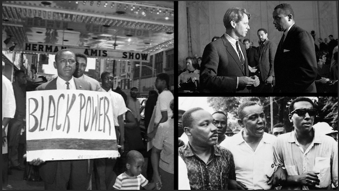 Floyd B. McKissick during the Civil Rights movement.