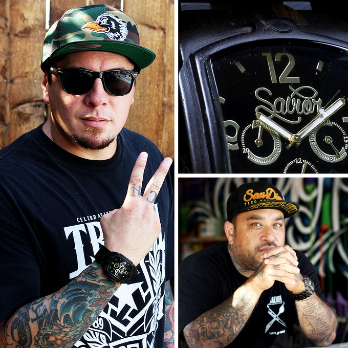 Sonny Sandoval (left), Milo Lorenzana (right)