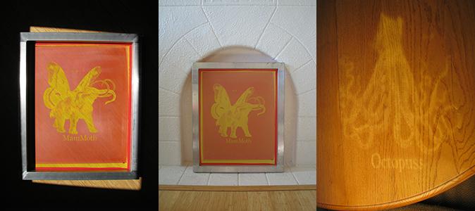 Silk-Screen Frames for Dracwyn Patron Level