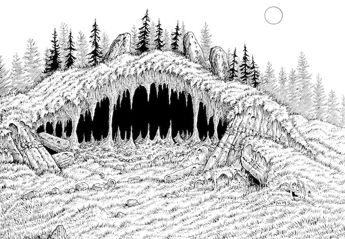 Illustration by William McAusland.