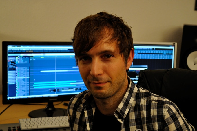 Composer Stephan Willing