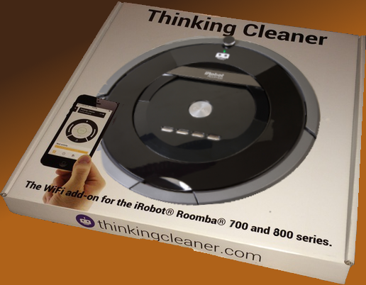 Package design for Thinking Cleaner for Roomba 700/800