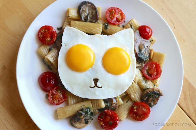 Eggs Over Pasta