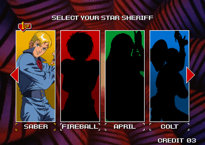 Character Select Screen