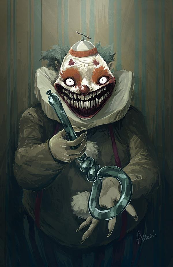Clown Motel by Natasha Alterici