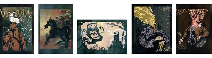 mockup - these are the images, but the layout may differ slightly