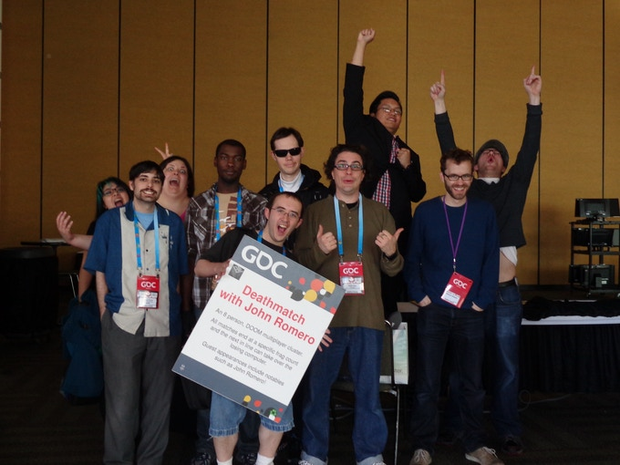 Our volunteers at GDC 2014